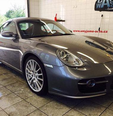 Mytí exteriéru Porsche